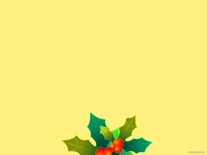 Beautiful Christmas Leaves Background