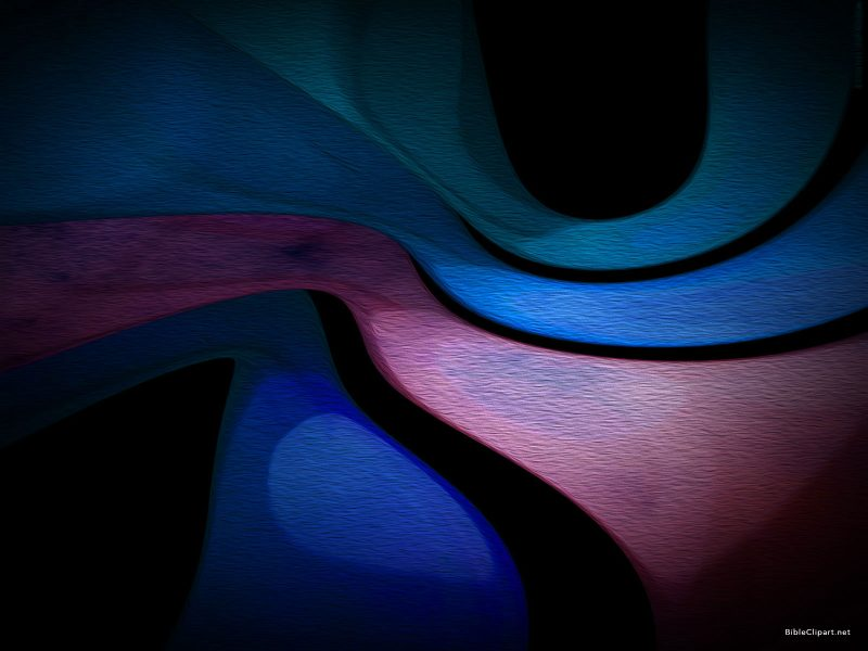 Blue Red Abstract Painting Background