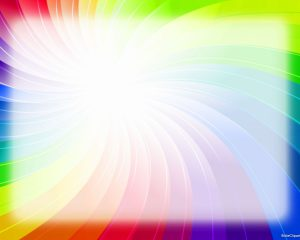 Rainbow Background for Powerpoint