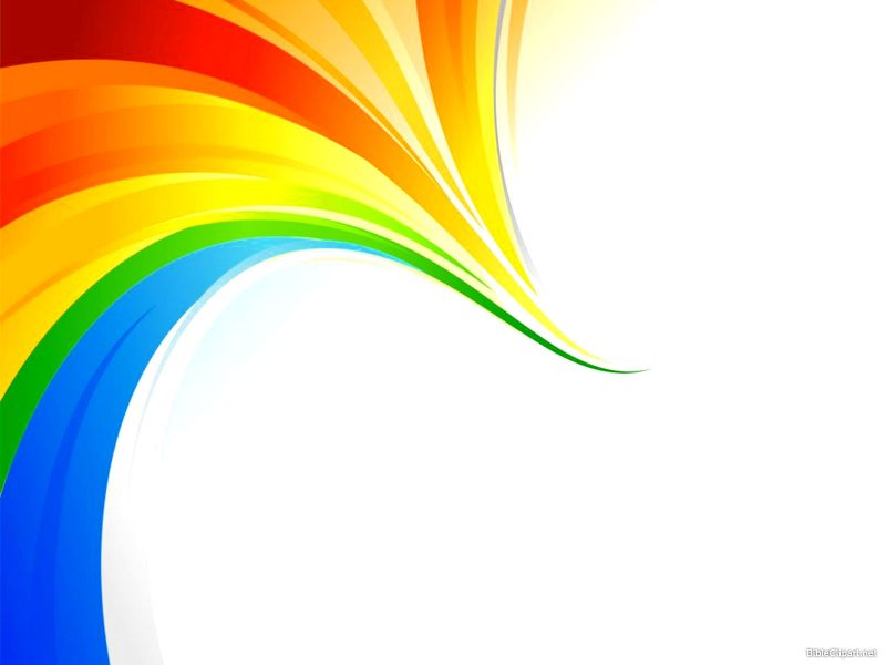 Rainbow Business PPT Template