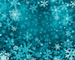 Snowflakes Oil Painting Background